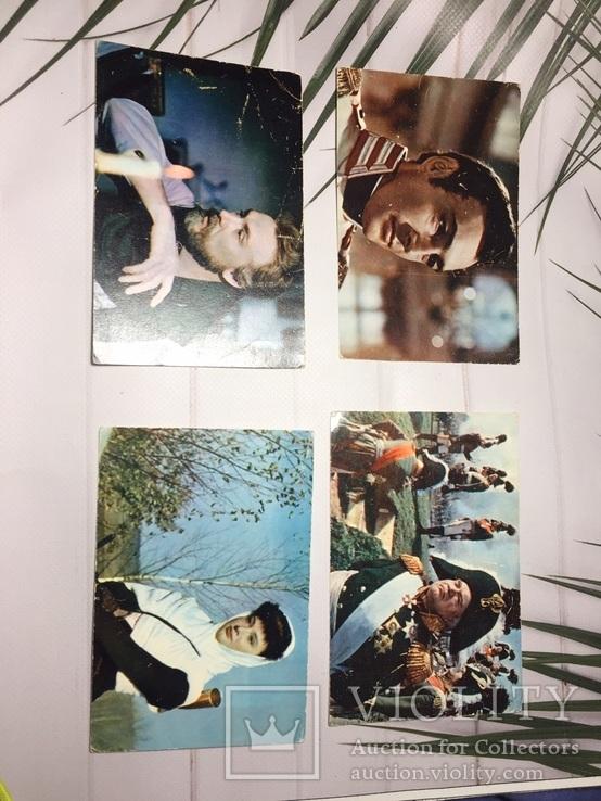 Советские открытки.Кадры из фильмов 7 шт., фото №5