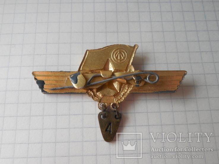 Знак сверхсрочно служащий СССР Авиация, фото №7