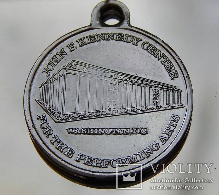 Медаль Джон Кеннеди центр 1961-1963г, фото №3