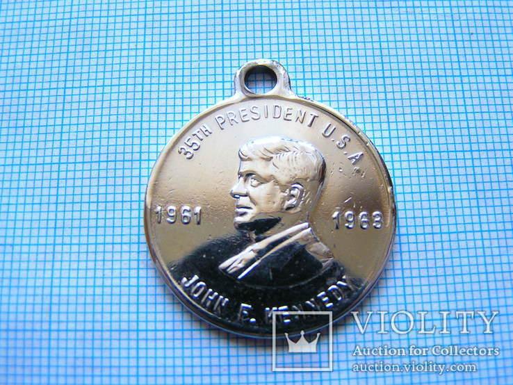 Медаль Джон Кеннеди центр 1961-1963г, фото №4