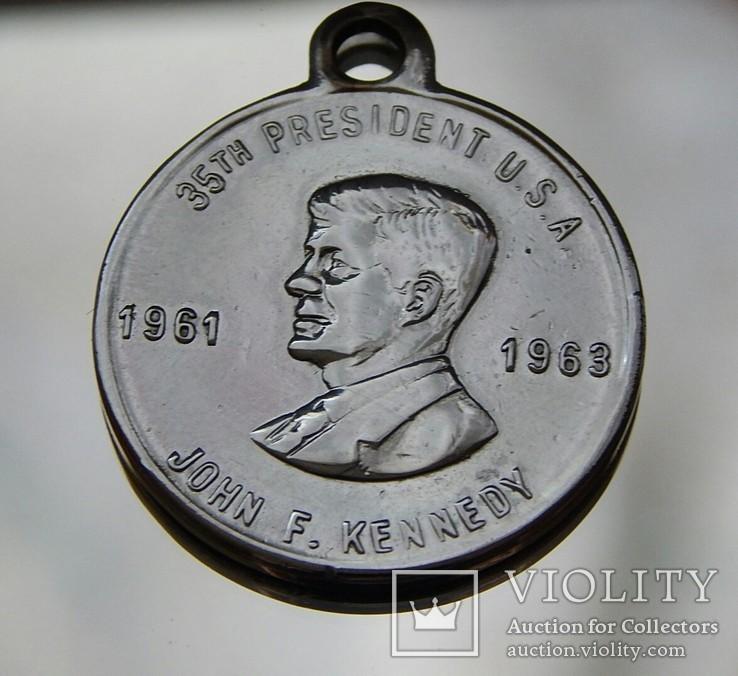 Медаль Джон Кеннеди центр 1961-1963г, фото №8