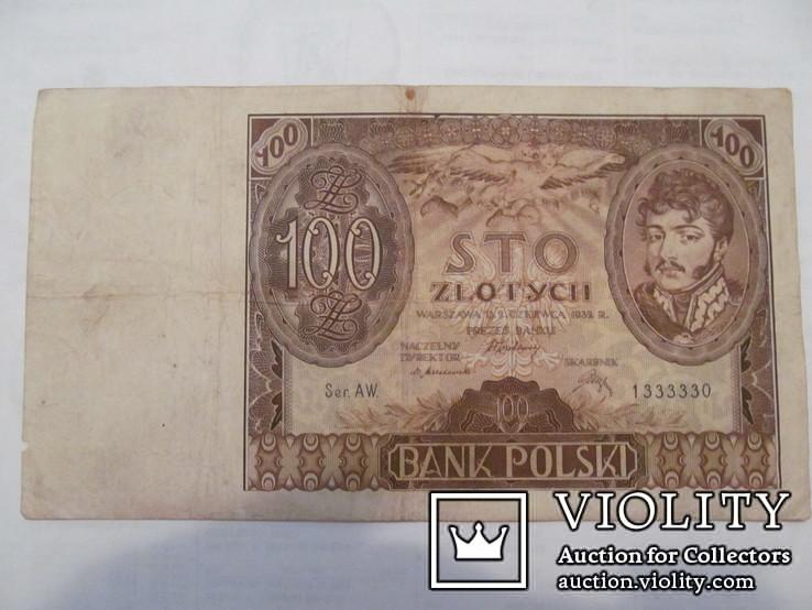 100 злотих 1932, фото №2