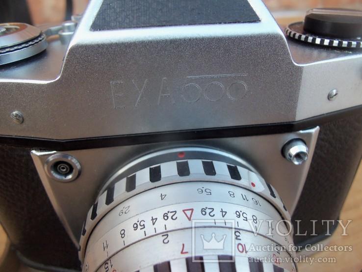 Фотоапарат EXA 500 Jhagee DRESDEN з обєктивом Meritar 2.9\\50 E. Ludwig, фото №3