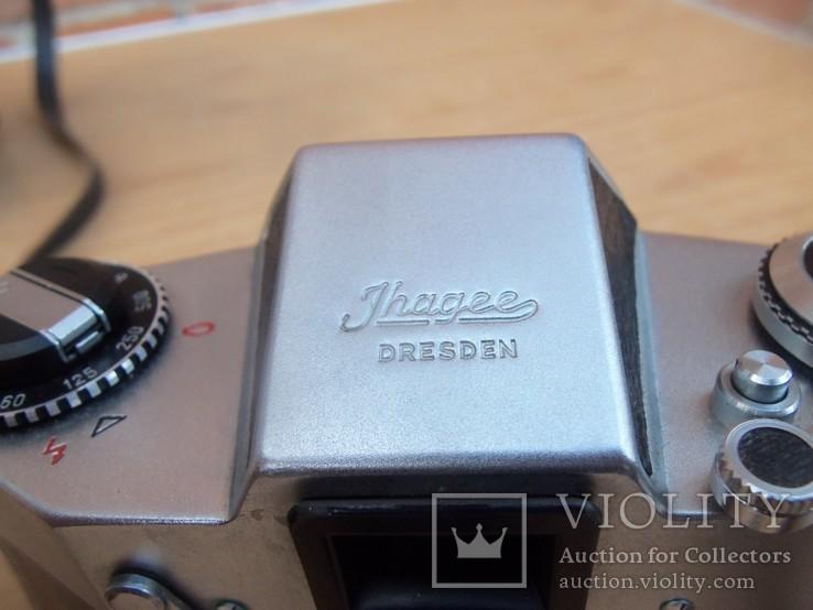 Фотоапарат EXA 500 Jhagee DRESDEN з обєктивом Meritar 2.9\\50 E. Ludwig, фото №5