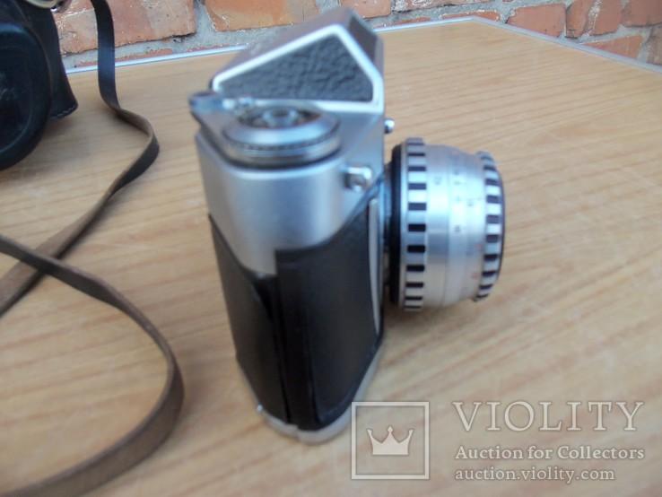 Фотоапарат EXA 500 Jhagee DRESDEN з обєктивом Meritar 2.9\\50 E. Ludwig, фото №6