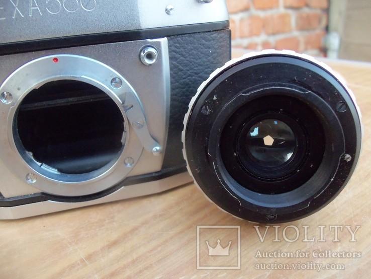 Фотоапарат EXA 500 Jhagee DRESDEN з обєктивом Meritar 2.9\\50 E. Ludwig, фото №11