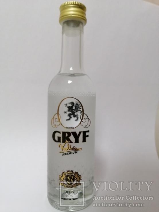 Gryf vodka premium, 0,05 l, Польша