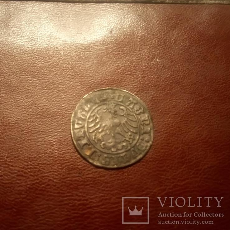 1509 Полугрош Литва 1509 Пагоня Всадник, фото №8