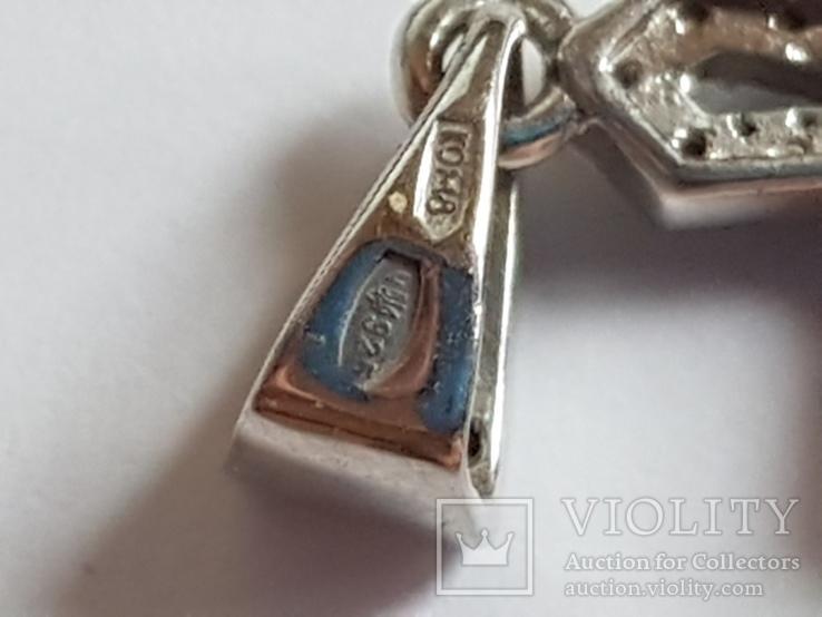 Крестик нательный. Серебро 925 проба., фото №7