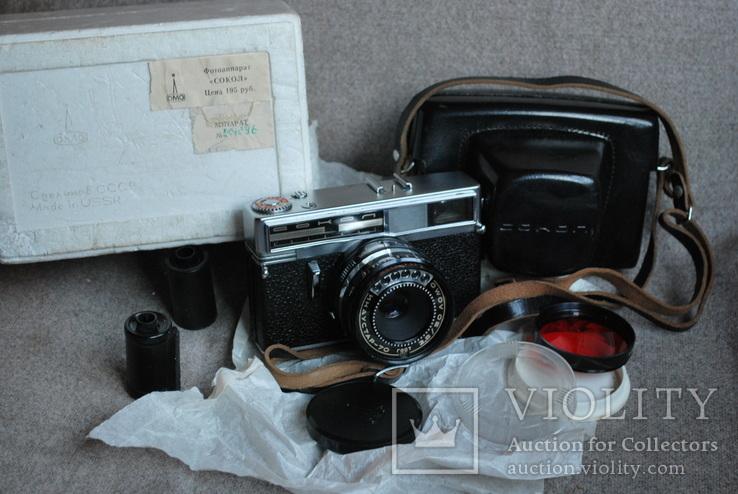 Сокол шесть свето приёмников, № 001096, первая модификация, первый выпуск., фото №2