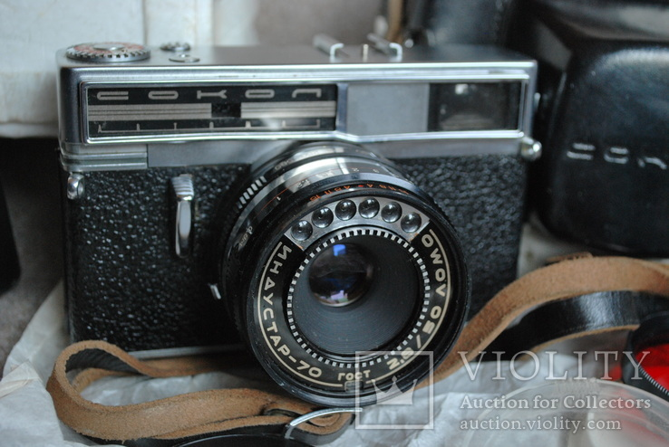 Сокол шесть свето приёмников, № 001096, первая модификация, первый выпуск., фото №12