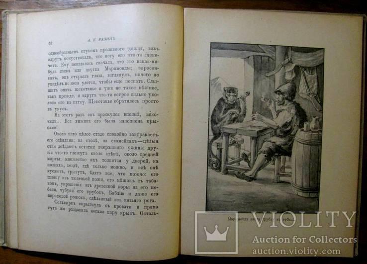 А.Разин.Настоящий Робинзон.Санкт- Петербург-Москва,1913 г. Т-во М.О. Вольф, фото №9
