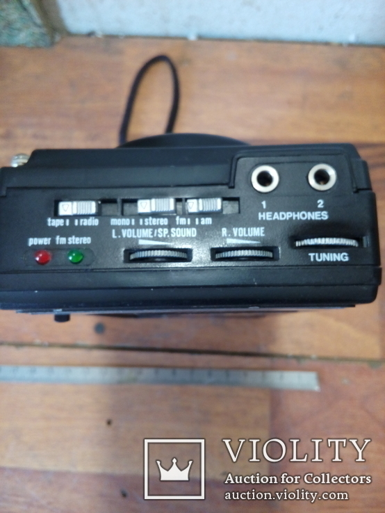 Диктофон, радио, магнитофон.  Рабочее, в коллекцию, фото №5