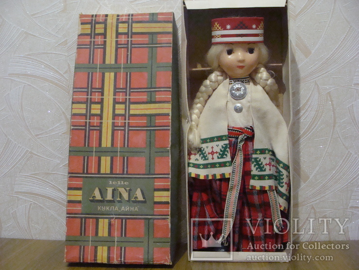 Кукла СССР ( парик), фото №2