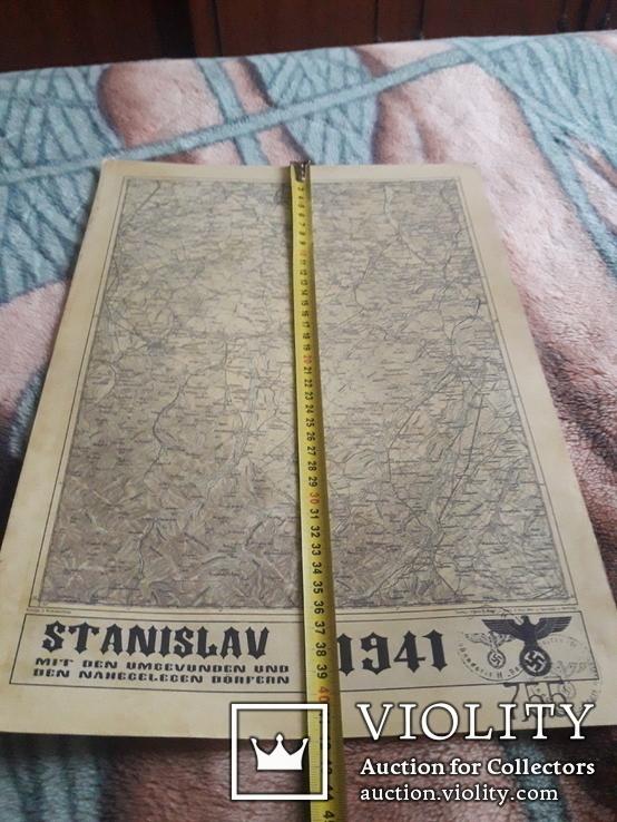 Копия немецкой карты Станислав, фото №7