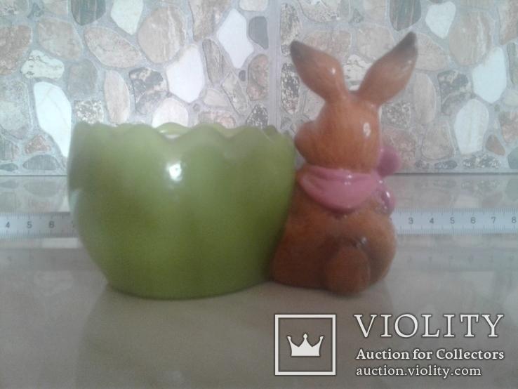 Статуэтка  заєць, фото №6