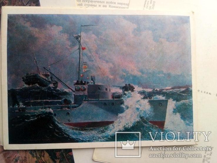 Набор открыток. центральный музей погранвойск ссср, фото №5