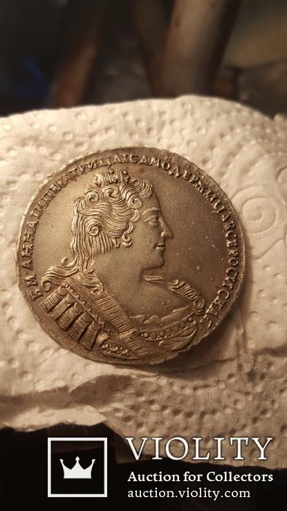 1 рубль 1733, фото №2