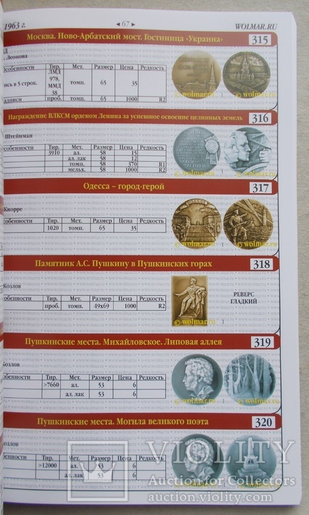 Новинка. Каталог настольных медалей два тома. Две книги., фото №9