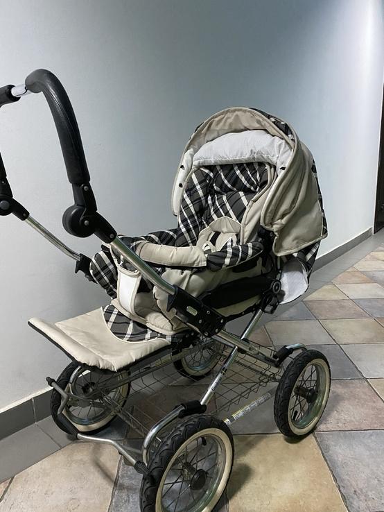 Детская коляска классическая Emmaljunga Edge Duo Combi (Швеция), фото №2