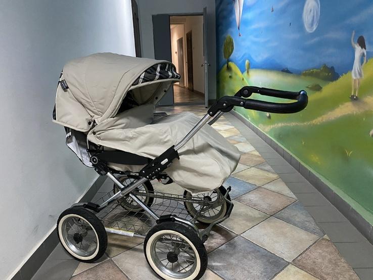 Детская коляска классическая Emmaljunga Edge Duo Combi (Швеция), фото №5