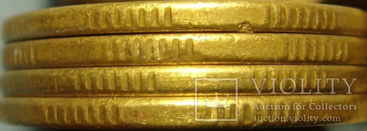 50 коп. 1996, 1АЕк, `крупный гурт`, 4 монеты., фото №4
