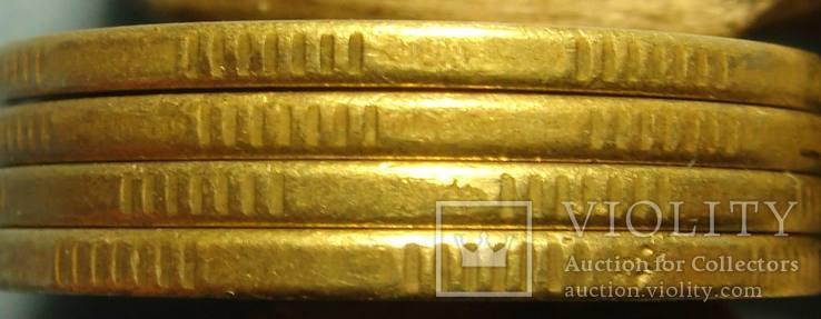50 коп. 1996, 1АЕк, `крупный гурт`, 4 монеты., фото №6
