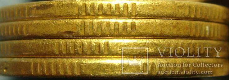 50 коп. 1996, 1АЕк, `крупный гурт`, 4 монеты., фото №7