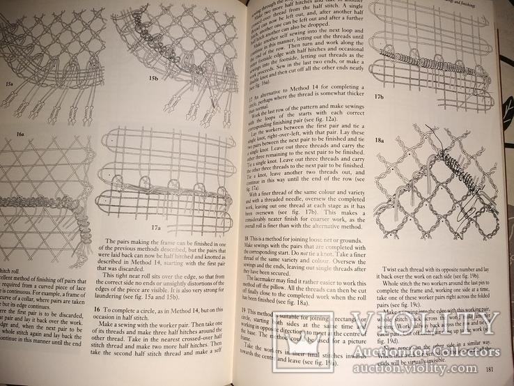 Ирландские кружева,  плетение, фото №4