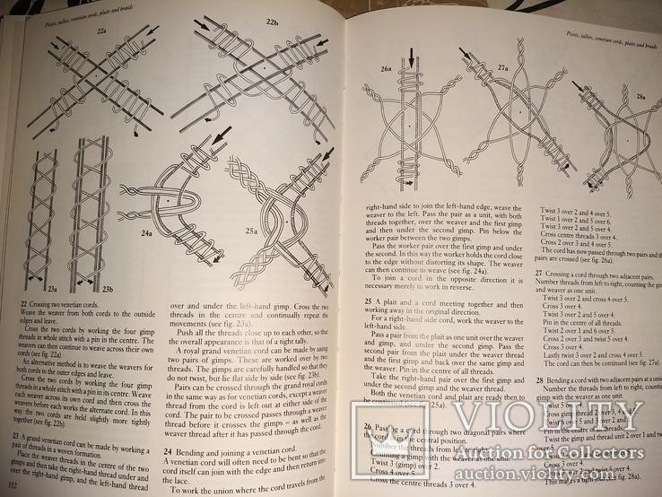 Ирландские кружева,  плетение, фото №6