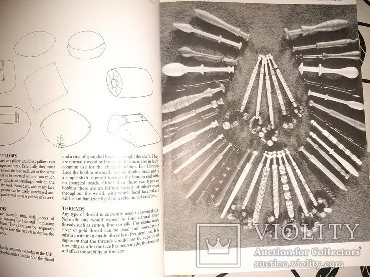 Ирландские кружева,  плетение, фото №8