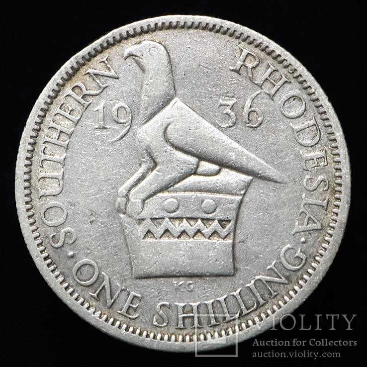 Южная Родезия 1 шиллинг, 1936