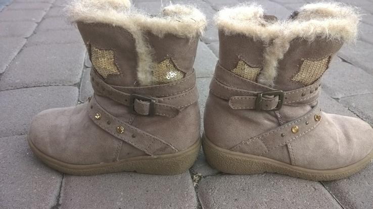 Сапожки зимові для дівчинки 25 р., фото №2