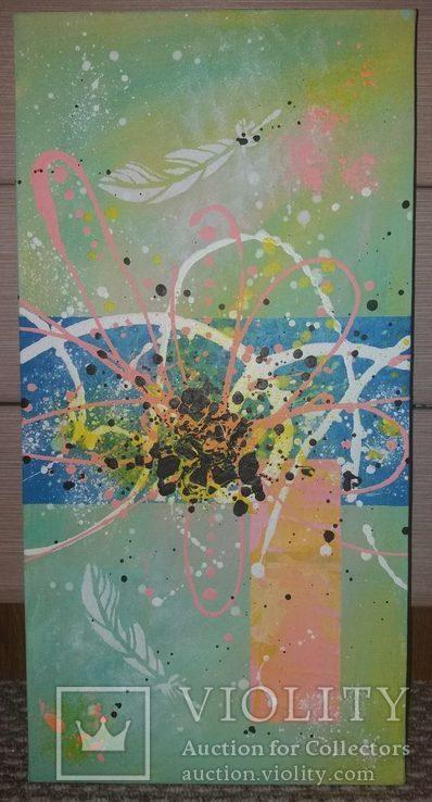 Картина модульная триптих акрил Ветер, 30Х40см, 50Х25см, 30Х40см, фото №5