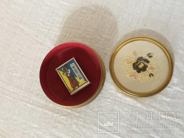 Винтажная шкатулка в отличном состоянии, фото №7