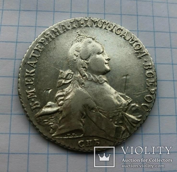 Рубль 1764 г. СПБ ТI ЯI, фото №7