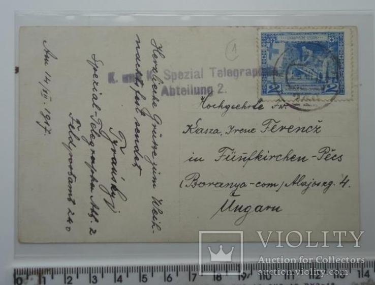 Агітаційна марка українського легіону січових стрільців 1917 р, фото №2