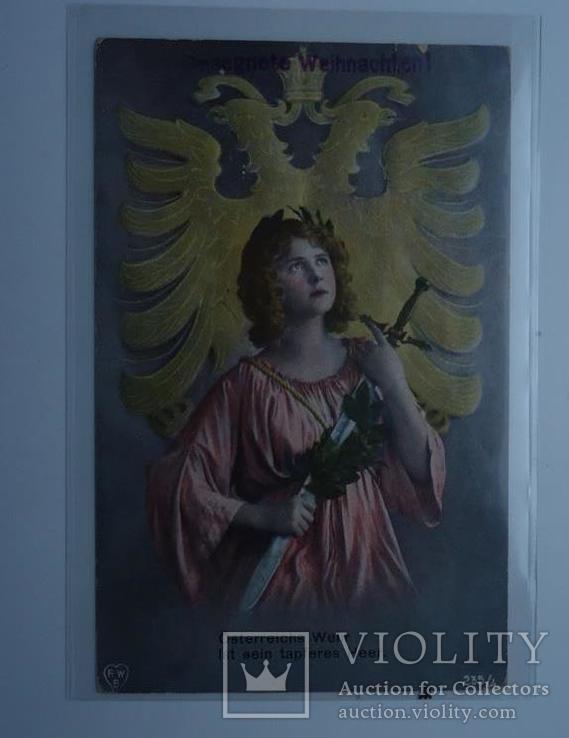 Агітаційна марка українського легіону січових стрільців 1917 р, фото №4