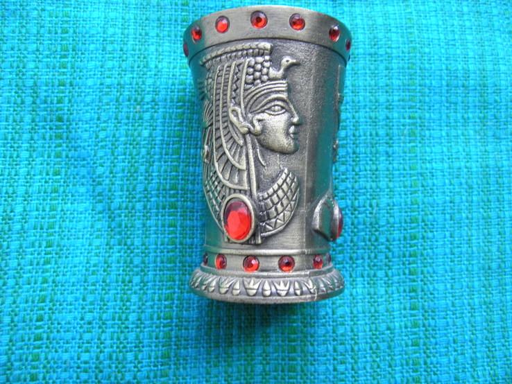 Рюмка египетская металлическая