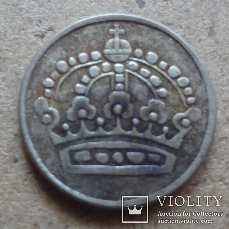 25 эре 1961  Швеция серебро   (К.43.26)~, фото №3