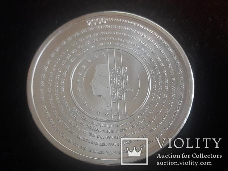 Нидерланды 5 евро, 2006 200 лет Налоговому ведомству Нидерландов, фото №3