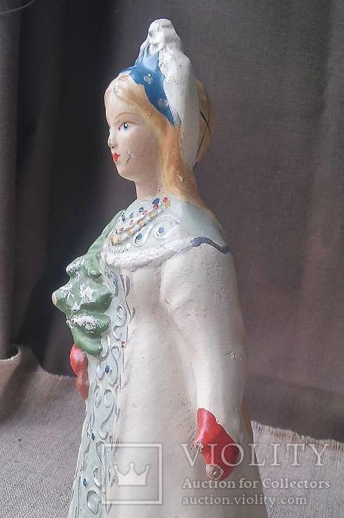 Снегурочка папье-маше, фото №12