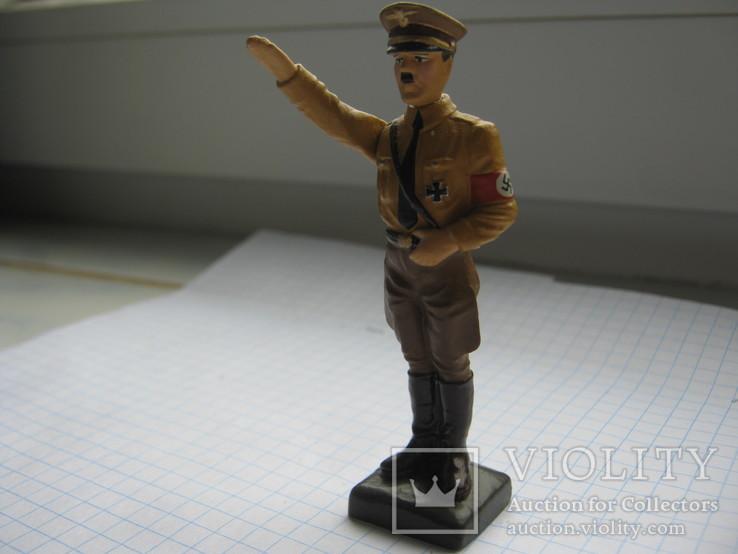 Фигурка Адольф Гитлер, Резина, Высота-78 мм., фото №3