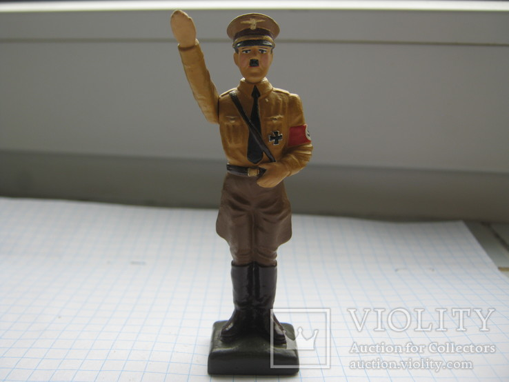 Фигурка Адольф Гитлер, Резина, Высота-78 мм., фото №5