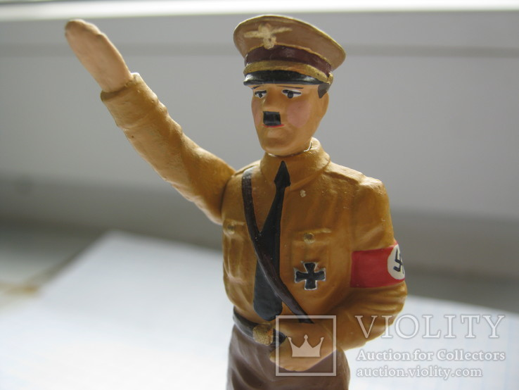 Фигурка Адольф Гитлер, Резина, Высота-78 мм., фото №6