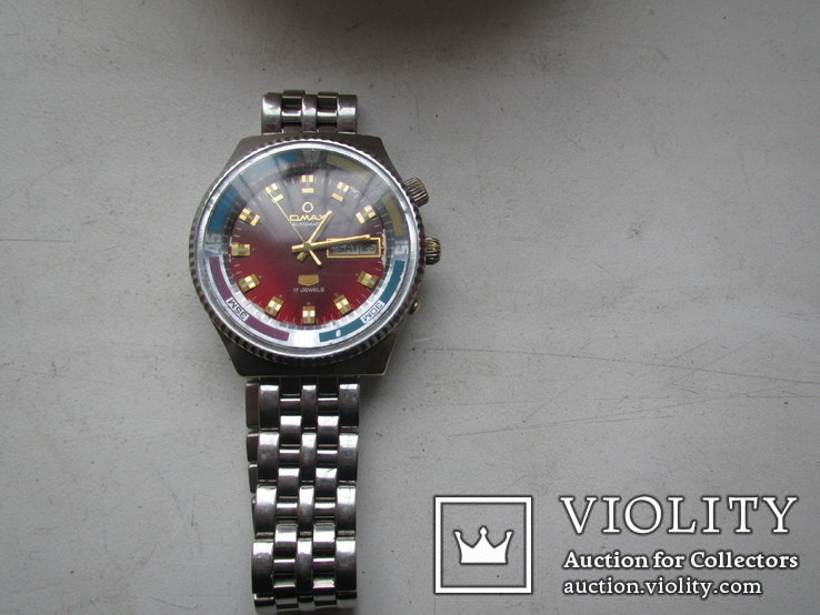 Часы Omax swiss 17 камн.