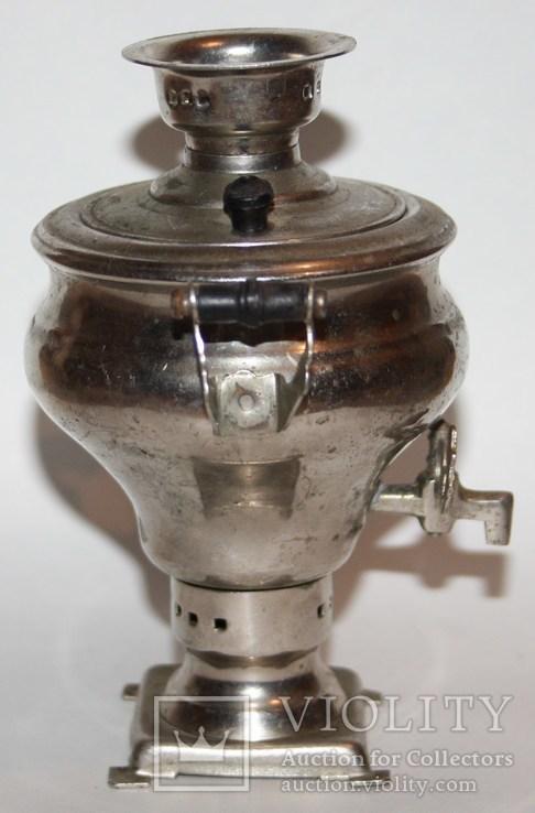 Сувенирный самовар,в форме репы (СССР), фото №4