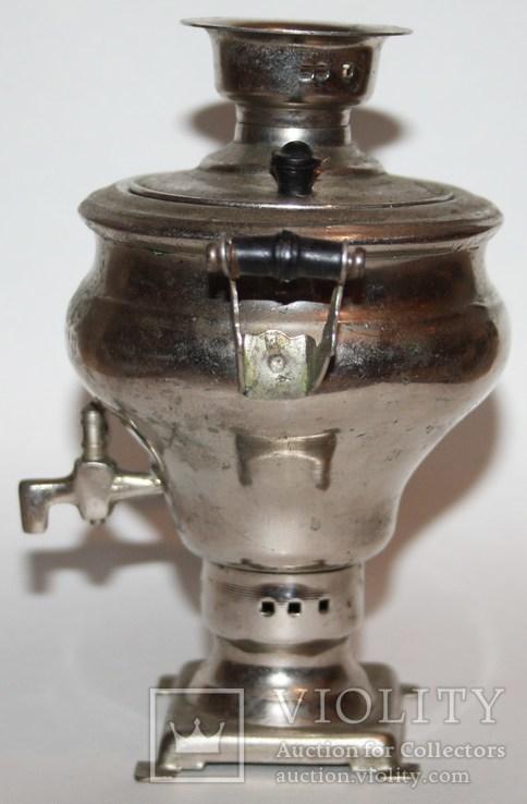 Сувенирный самовар,в форме репы (СССР), фото №6