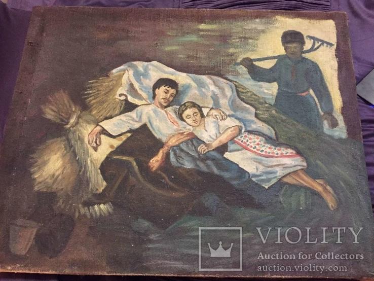 Народна картина з Миколаївської області, фото №8