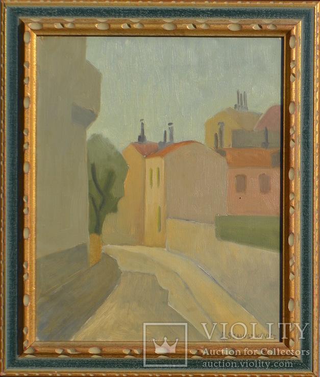 Нехама Шмушкович (1895 Одесса - 1977 Париж) масло